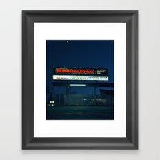 Movie rentals Framed Art Print