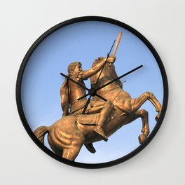 Skopje III Wall Clock