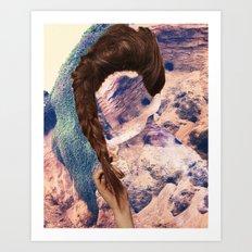 Haircut 9 Art Print