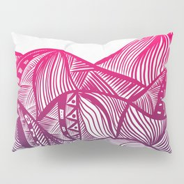 Lines in the mountains 05 Pillow Sham