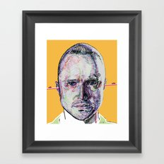 Jesse Pinkman Framed Art Print