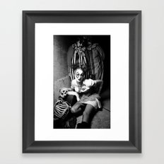 Nurse & Clowns Framed Art Print