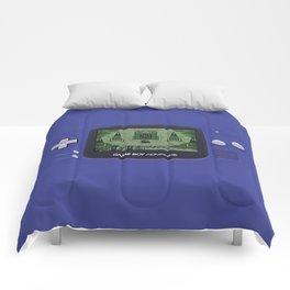 Classic Gameboy Zelda Link Comforters