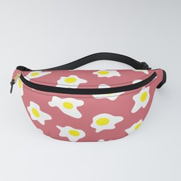 Eggs Over Red Fanny Pack