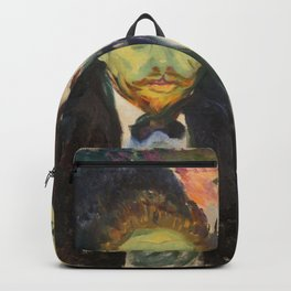 Edvard Munch - Jealousy. From the series The Green Room Backpack