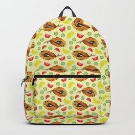 Milkfish Pattern Backpack