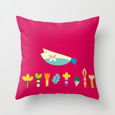 The Fish's Dream Throw Pillow