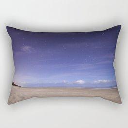 Painted Beach Sky Rectangular Pillow