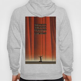 Vintage poster - Moscow Theatre Festival Hoody