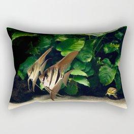 Aquatic dance Rectangular Pillow