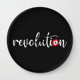 French Revolution - Tricolore Cockade Wall Clock