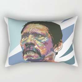 Angry Trejo Rectangular Pillow