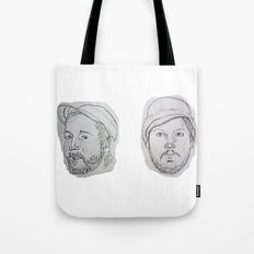 Modest Beards Tote Bag