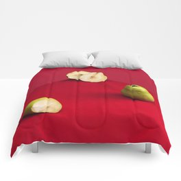 Damaged Pears Comforters