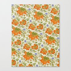 Bird pattern Canvas Print