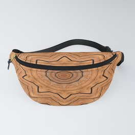Wooden Wheel of the year of the ring kaleidoscope Fanny Pack