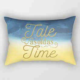 Tale As Old As Time - Beauty and the Beast (color) Rectangular Pillow