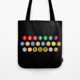 NYC Subway! Tote Bag
