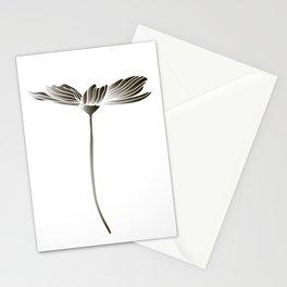 Minimalistic flower Stationery Cards
