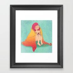 The Joy of Knitting Framed Art Print