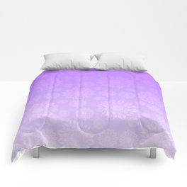Pattern in Violet Comforters