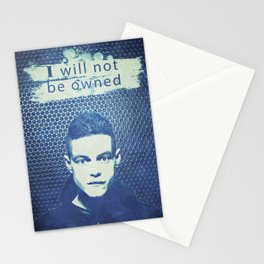 Alternative Mr Robot Poster Stationery Cards