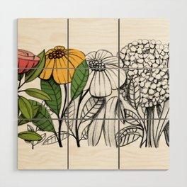 First summer blooms Wood Wall Art