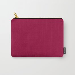 Simply Burgundy Carry-All Pouch