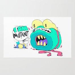 Not a Teenage Mutant Ninja Turtle Rug