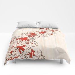 Macro Coral Comforters
