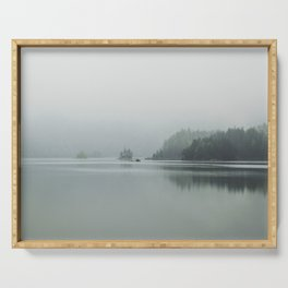 Fog - Landscape Photography Serving Tray