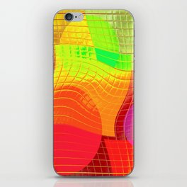 Re-Created Function f(x) No. 7 by Robert S. Lee iPhone Skin