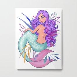 Mermaid 002 Metal Print