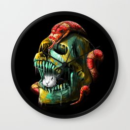 Fear and Desire Wall Clock