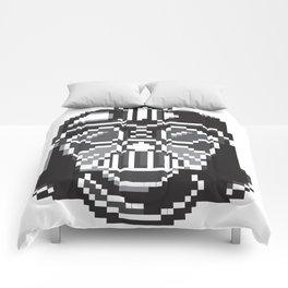 Darth Vader pixel art Comforters