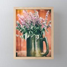 Wildflowers Framed Mini Art Print