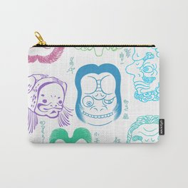Joge-e: When Kawaii Wasn't a Thing in Japan Carry-All Pouch