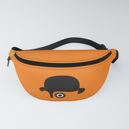 A Clockwork silhouette Fanny Pack
