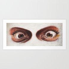 Crazy Eyes Art Print