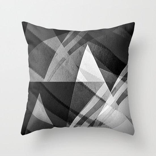 Pyramids #II Throw Pillow