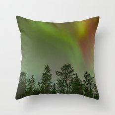 Aurora VI Throw Pillow
