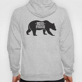 Bear Silhouette  Hoody