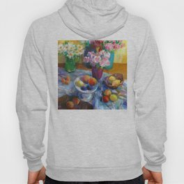 Still Life with Flowers and Fruits Hoody