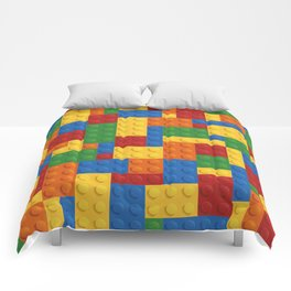 Lego bricks Comforters