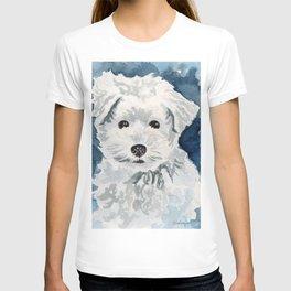 Bichon Frise Watercolor T-shirt