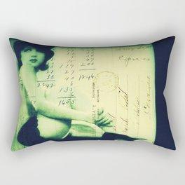 The Magician's Muse Rectangular Pillow