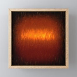 Digital Fire 1 Framed Mini Art Print