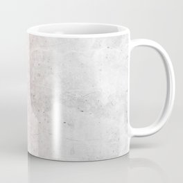 Blush Pink Sparkles on White and Gray Marble Coffee Mug