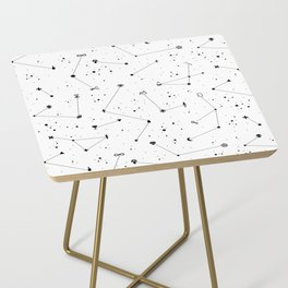 Constellations (White) Side Table