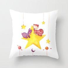 Baby star Throw Pillow